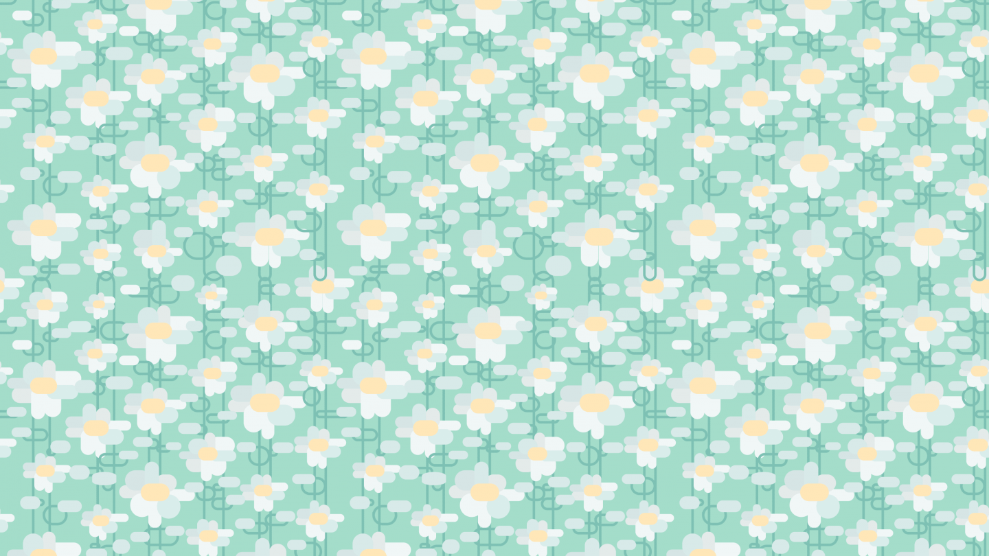 Abstract white daisy flowers springtime pattern pattern pictures