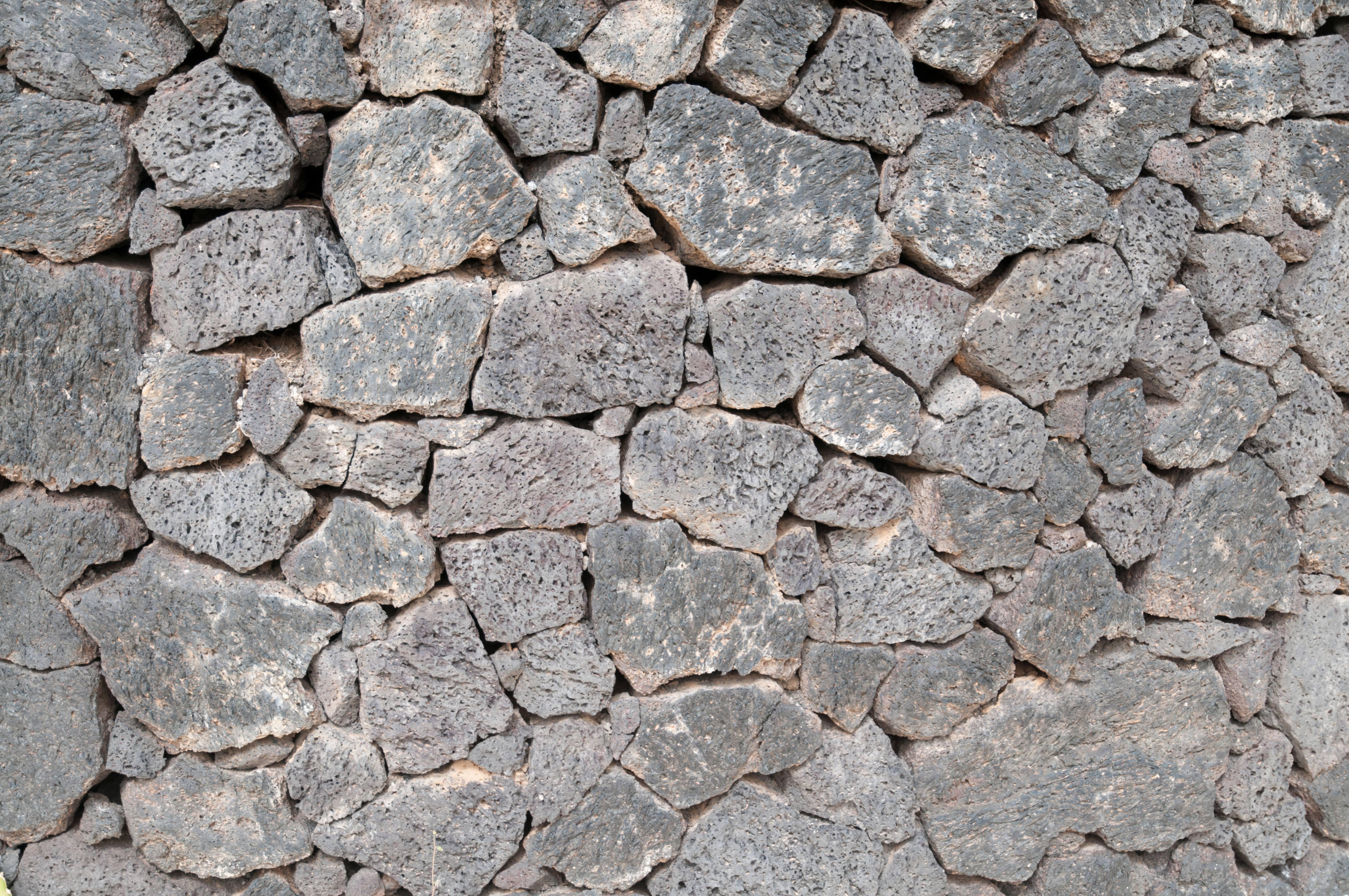 Ancient Rock Piled Wall