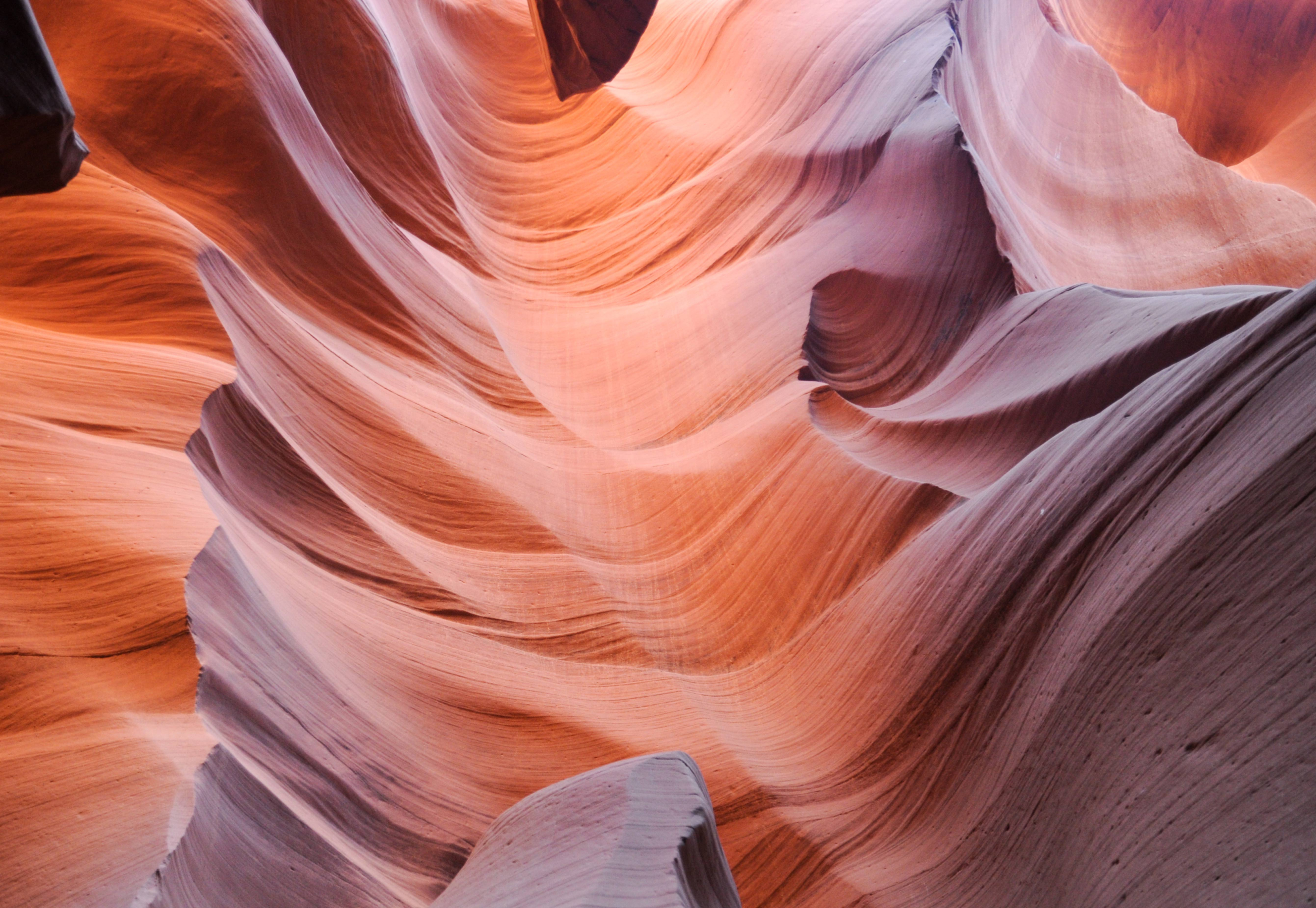 Antelope Canyon rock pattern