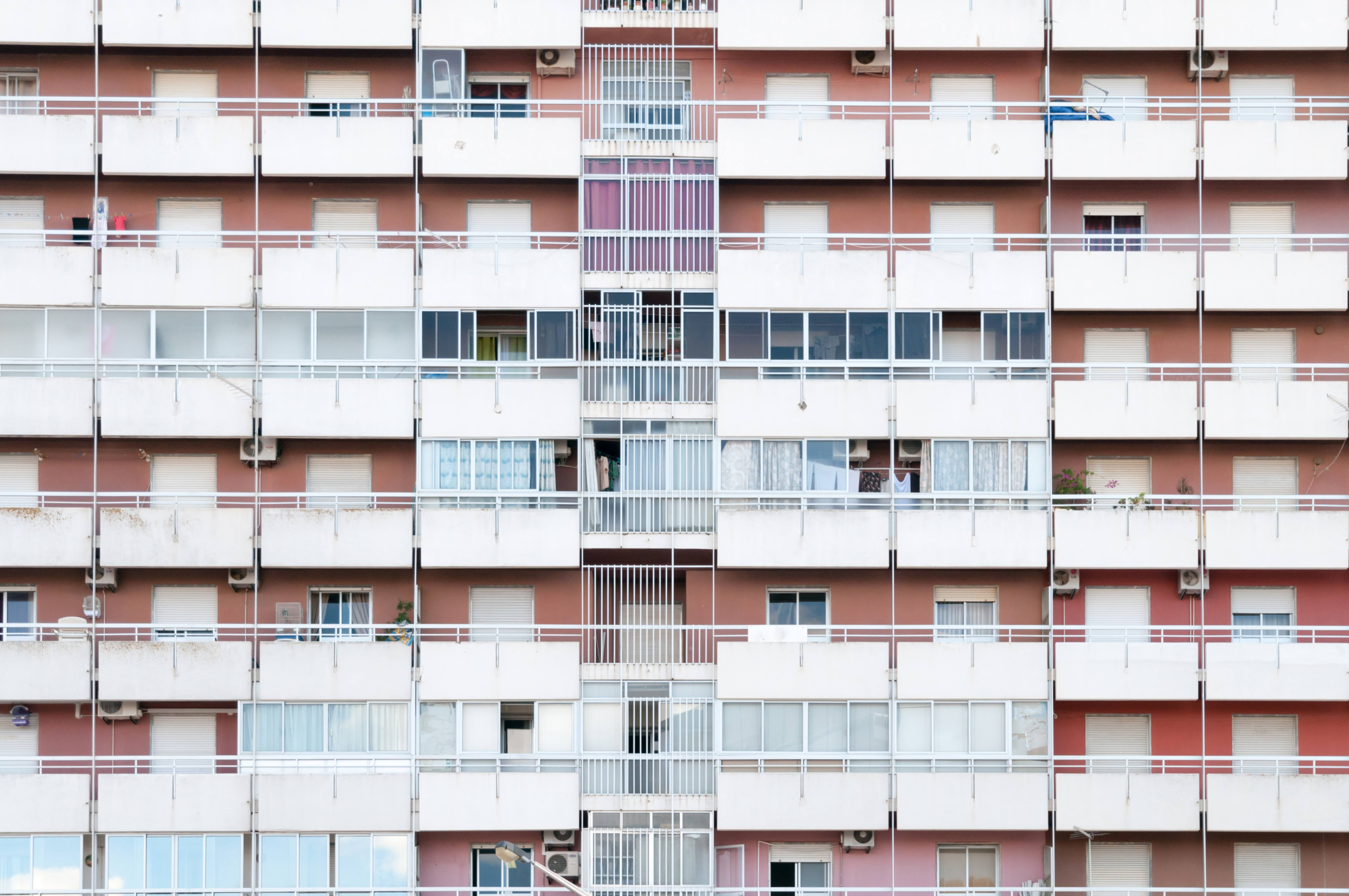 Appartment Building Facade Pattern