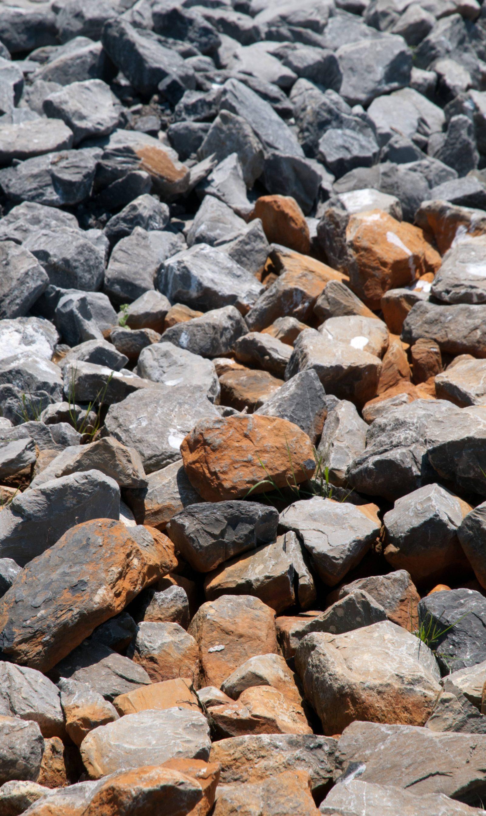 Big Smashed Rocks