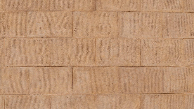 Big flat brick pattern wall