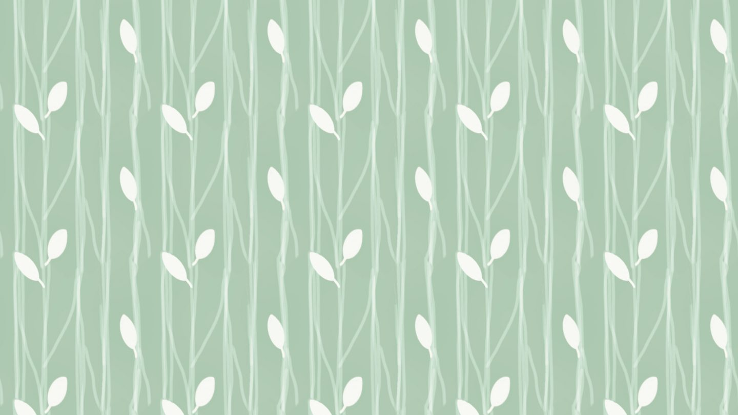 Birds Leaves And Branches Pattern