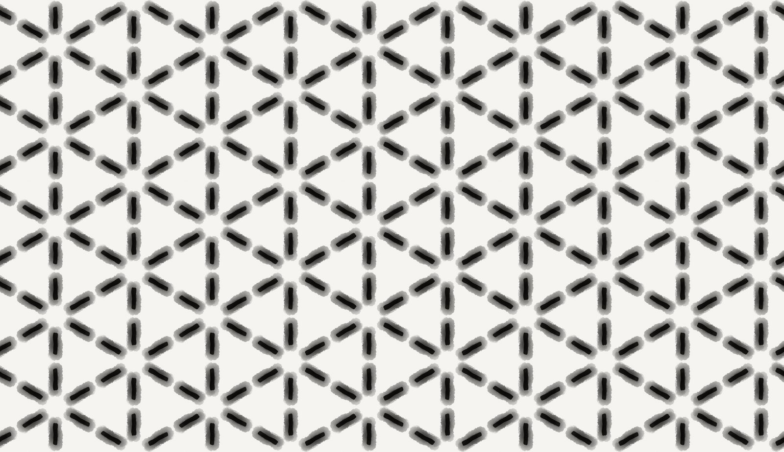 Black Aquarel Striped Lines Pattern