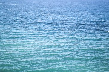 Blue green sea water texture background