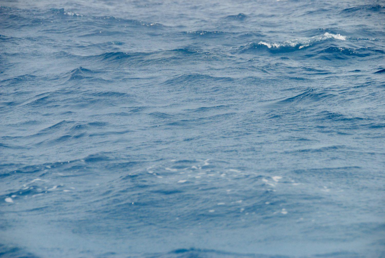 Blue Sea Water Close-Up