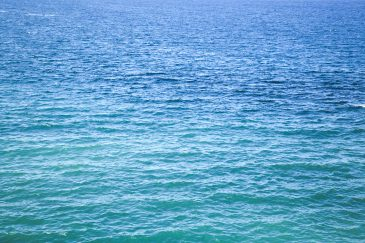 Blue and Green Water
