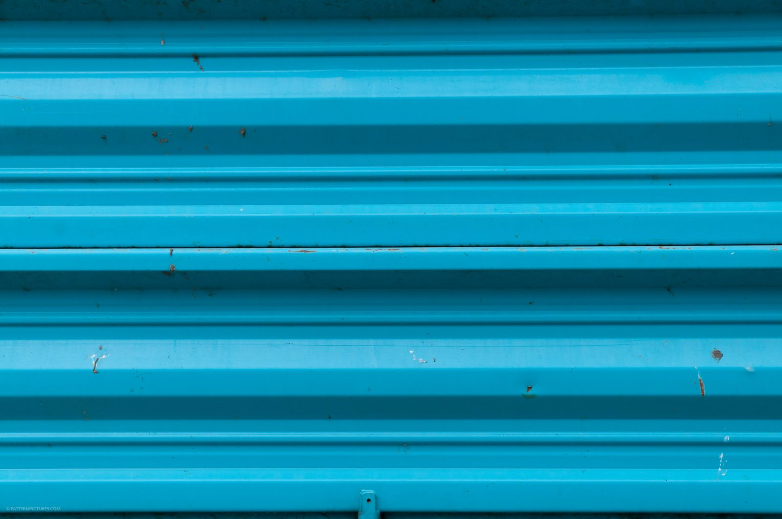 Blue metal wall background