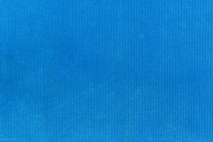 Bright blue fabric texture