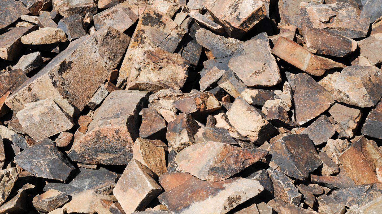 Bristle cone stones background photo