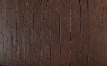 Red wooden door texture