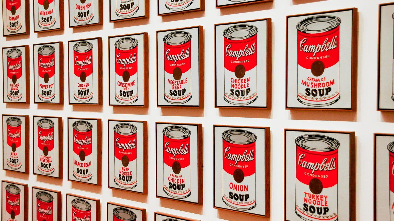 Campbells Soup Cans pattern