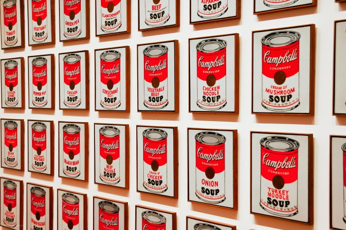 Campbells Soup Cans pattern