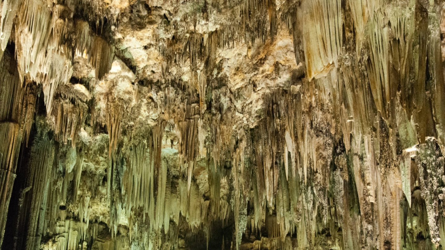 Cave Ceiling Stalactite