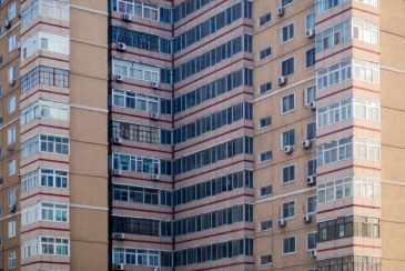 Chinese flat building pattern
