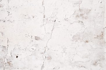Cracked paint white grunge wall