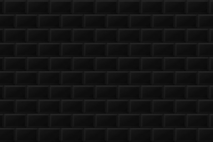 Dark beveled subway tiles pattern pictures