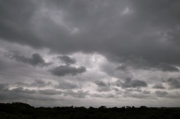 Dark grey clouds