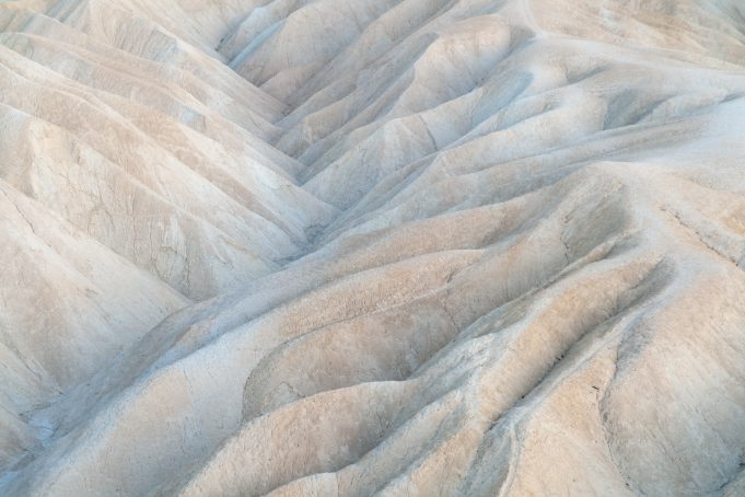 Death Valley hills Zabriskie Point National Park California