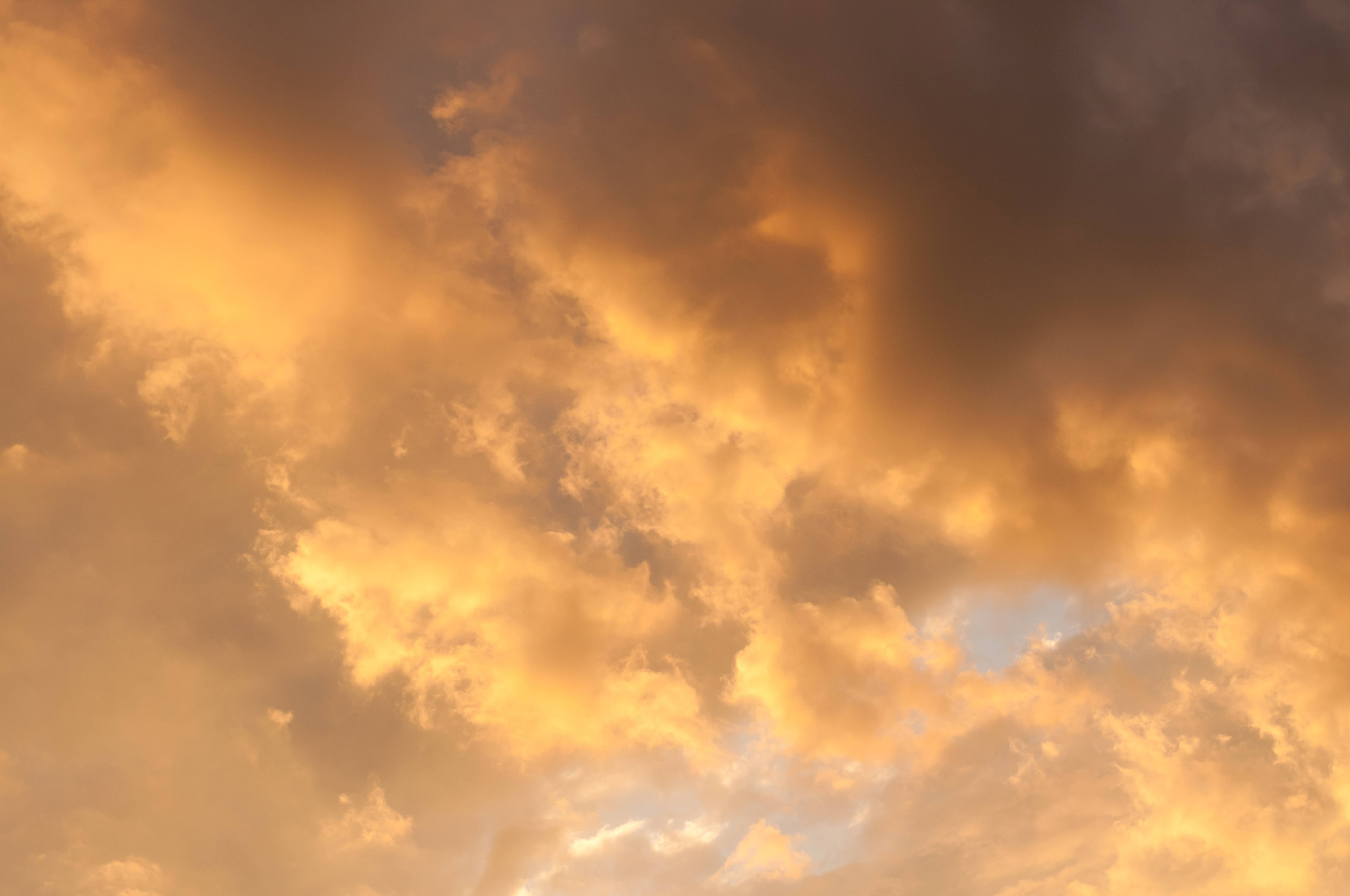 Dramatic Cloudy Sunset Sky