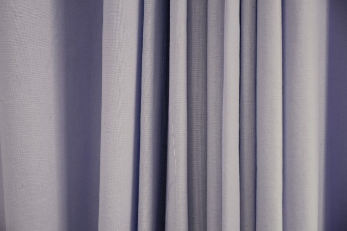 Draped Canvas Curtain