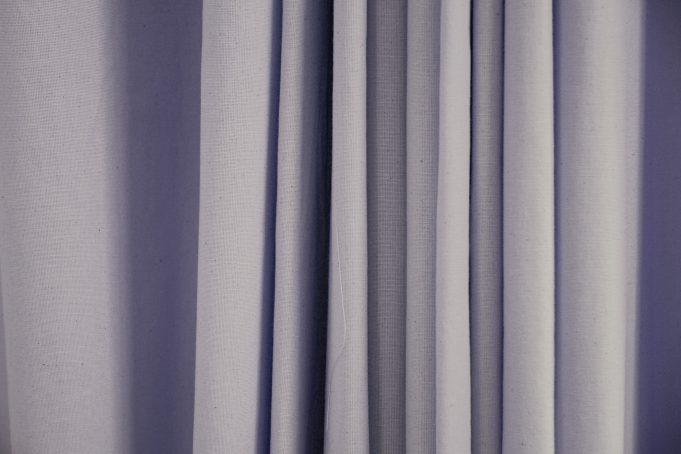 Draped Canvas Curtain