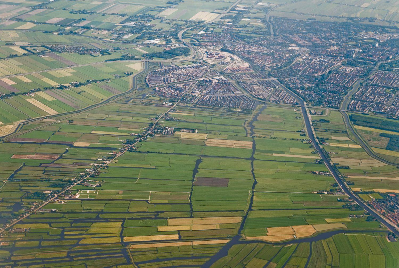 Dutch Aerial Landscape