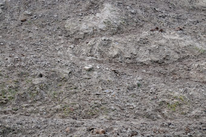 Earth hill sand- close-up background