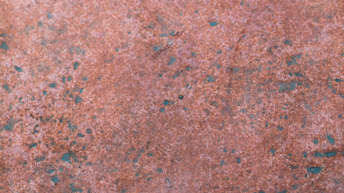 Eroded rusted steel grunge texture