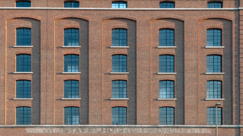 Factory industrial building windows