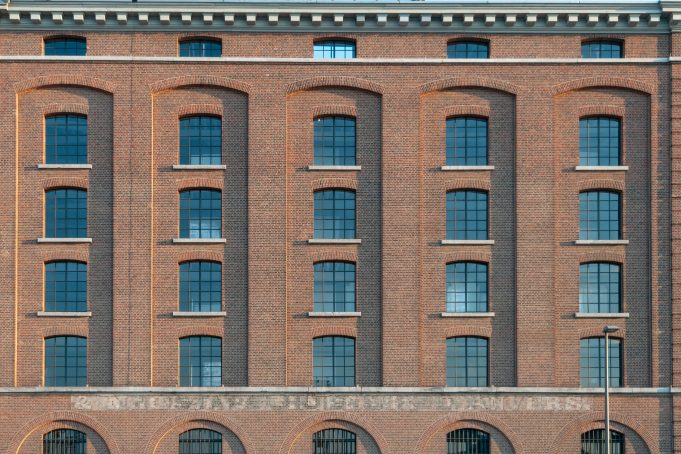 Factory industrial building windows