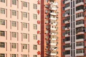 Flat building China