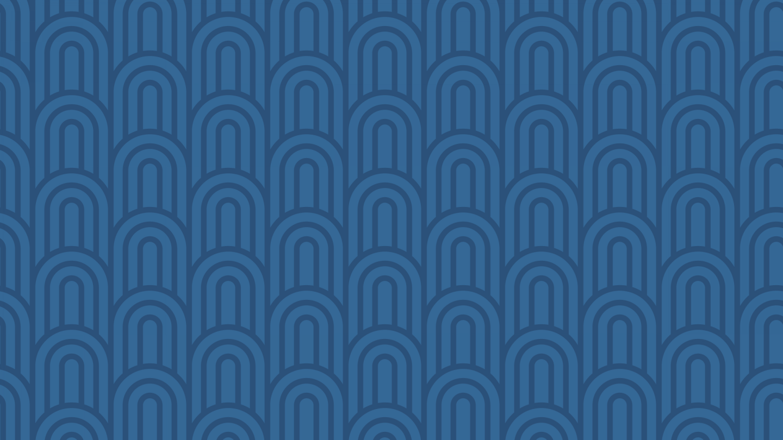 Geometric pattern blue waves