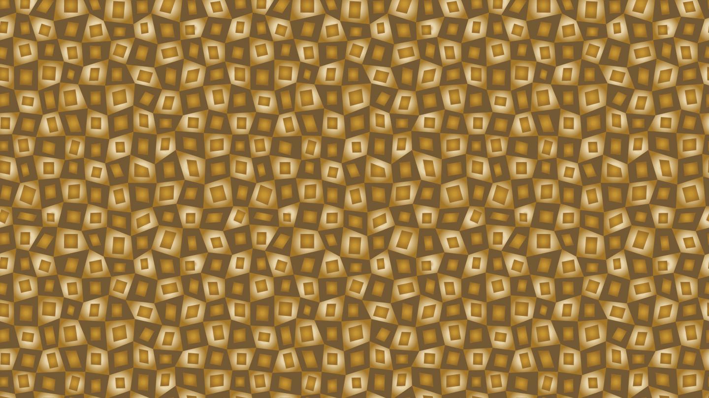 Gold cubes wallpaper patternpictures