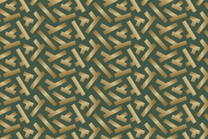 Gold ticker tape parade pattern texture