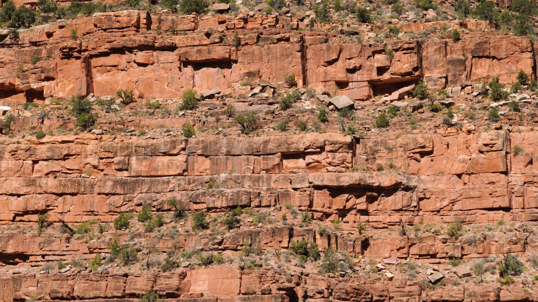 Grand Canyon mountain wall background