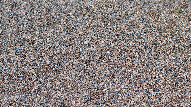 Gravel path floor background