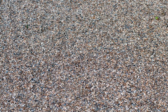 Gravel path floor background