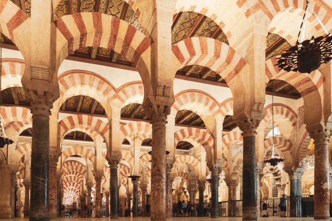 Great Mosque Interior View Córdoba
