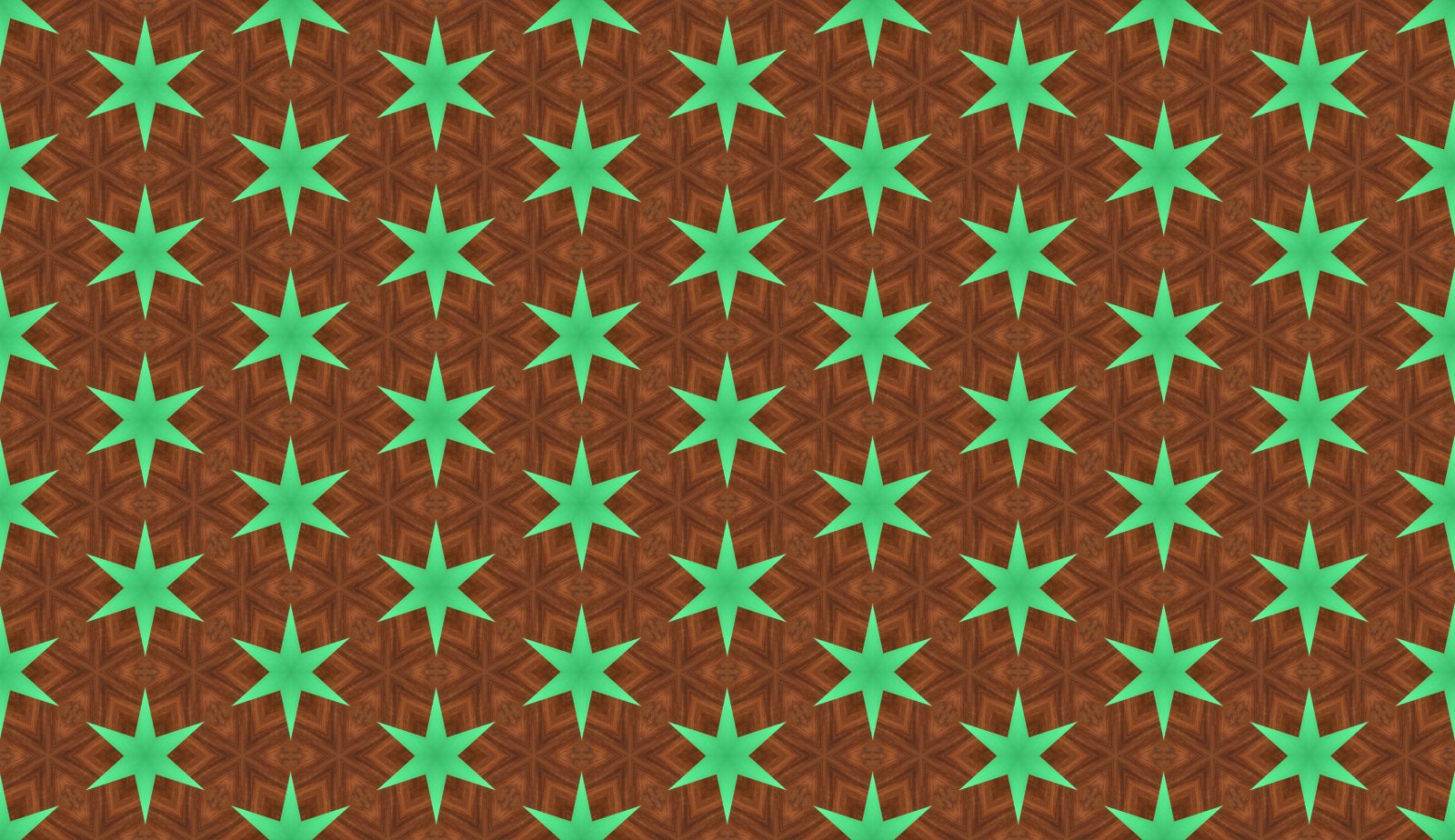 Green Paper Stars On Wood pattern pictures
