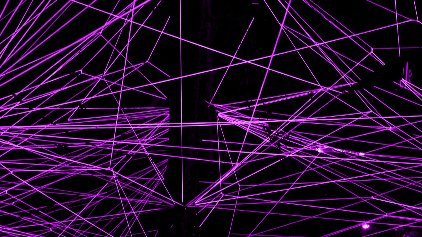Laser party background