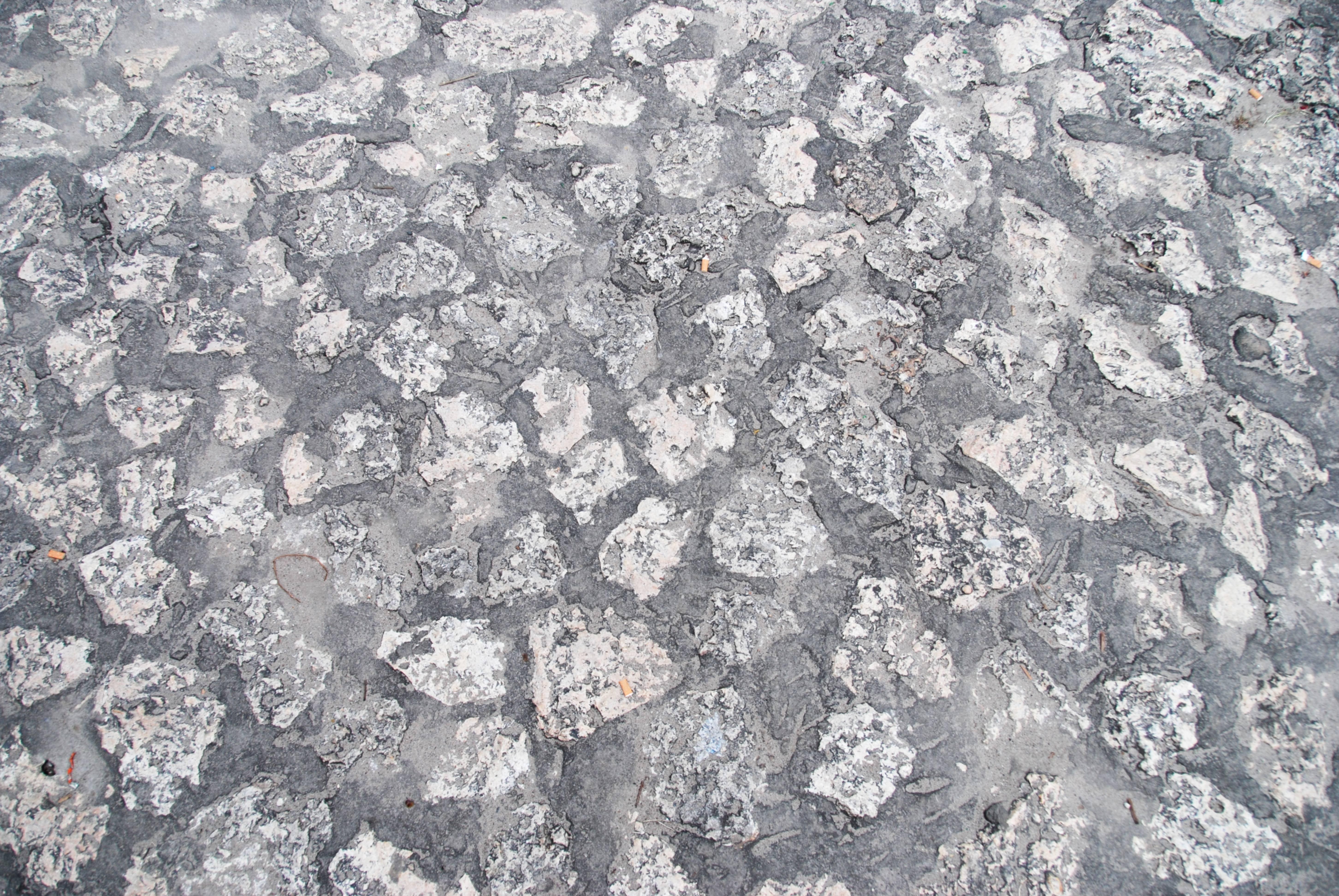Grey Grunge Terrace Stone Texture Pattern