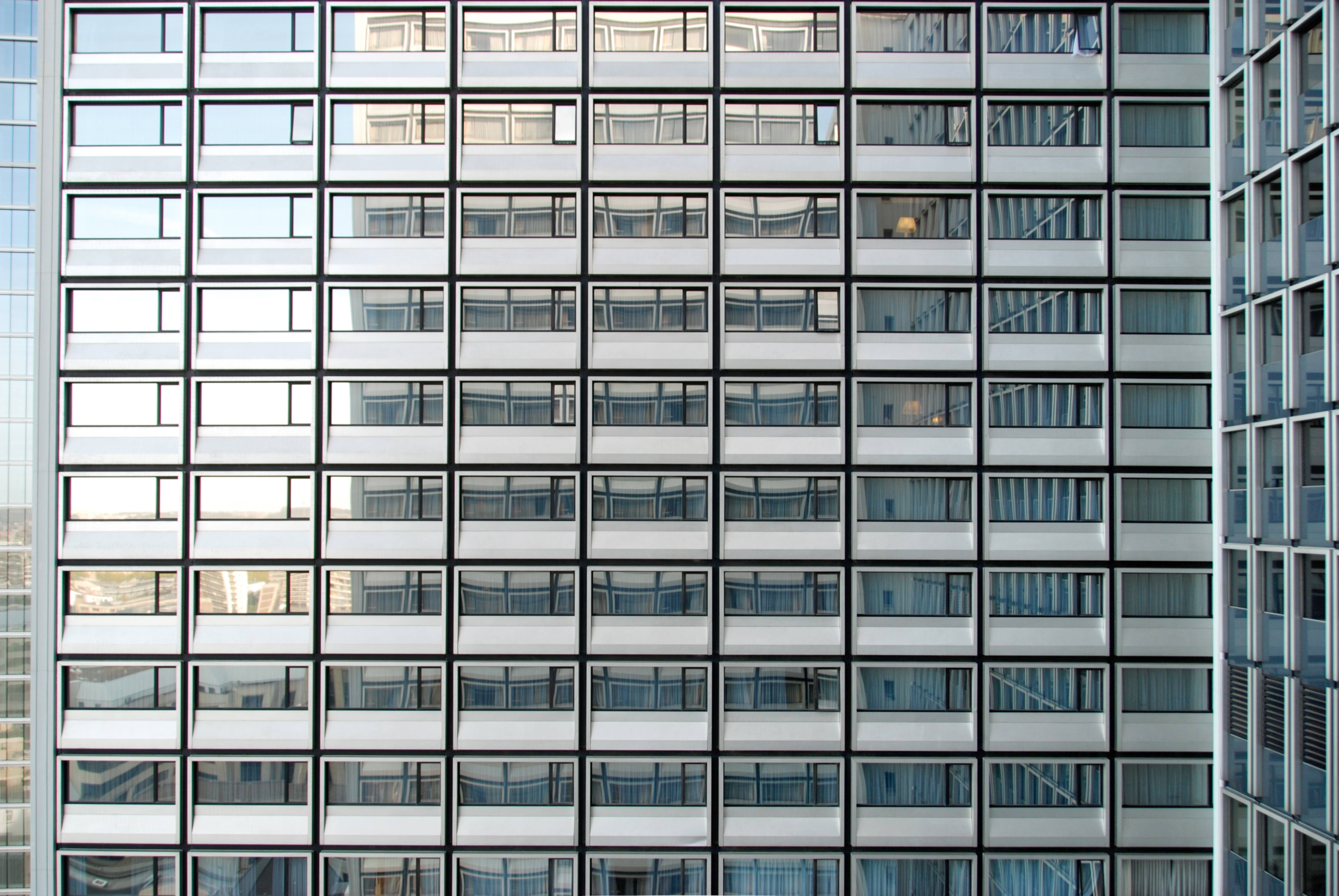 Hotel Windows at Daylight