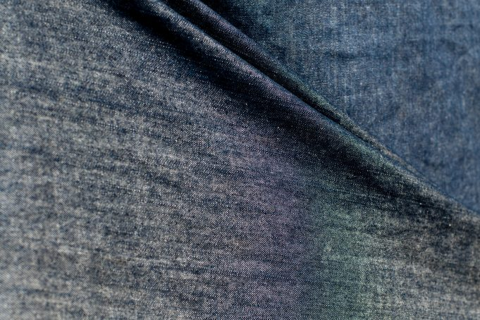 Jeans background fold