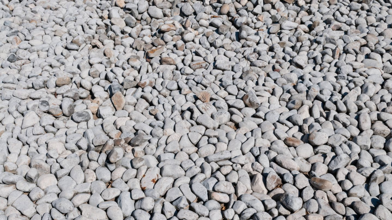 Light Grey Pebble Stone Texture