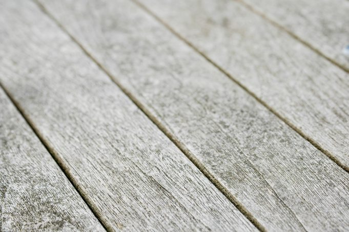 Light Grey Wooden Planks Surface