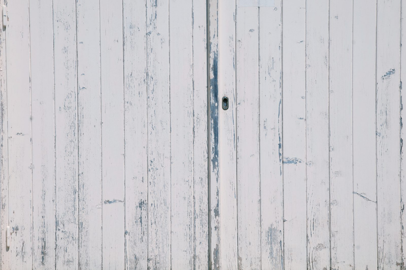 Light wood garage door