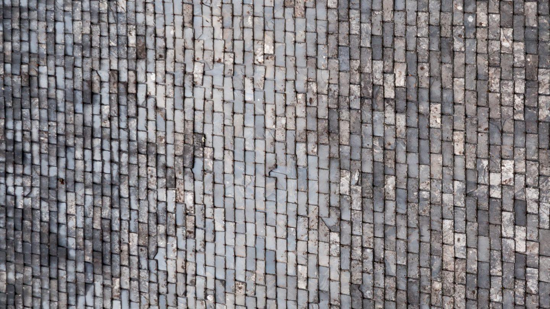Lime stone roof tiles mini pattern