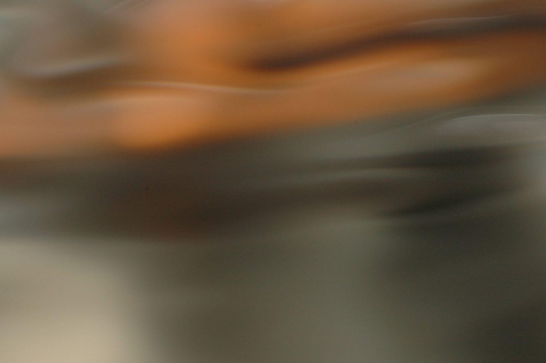 Liquid blur warm wave effect