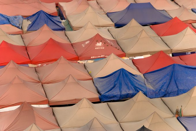 Marketplace Tent Roofs